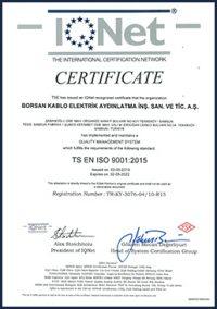 borsan certificate
