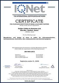 teldor certificate